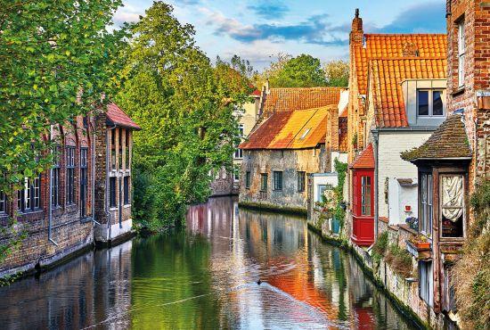 Euro city cruise: Bruges