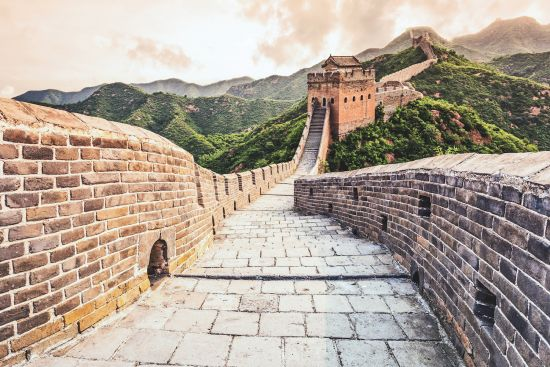 Cruise to China: The Great Wall of China