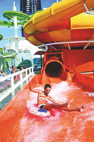 Cruise ship swimming pools: NCL