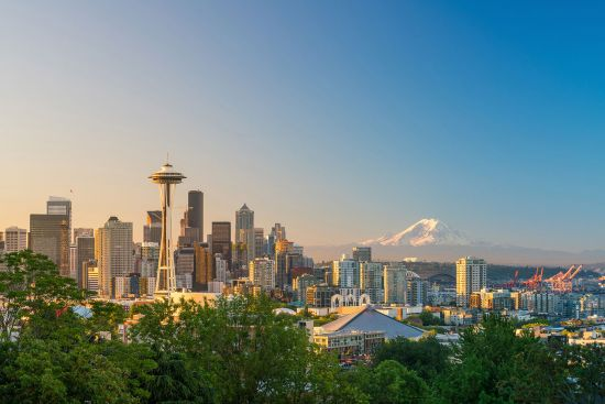 Visit Seattle and see Space Needle on a US cruise