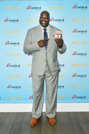 Shaquille O'Neal, Carnival Cruise Line, Mardi Gras