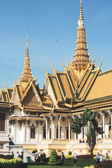 Cruise to Cambodia: The Royal Palace at Phnom Penh