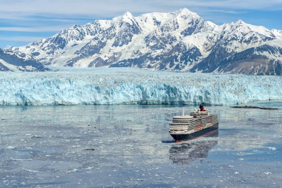 Cunard Alaska sailing with Sir Ranulph Fiennes