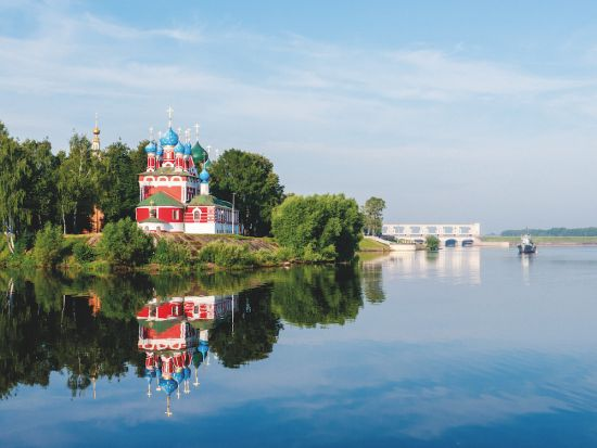 European river cruises: Volga river