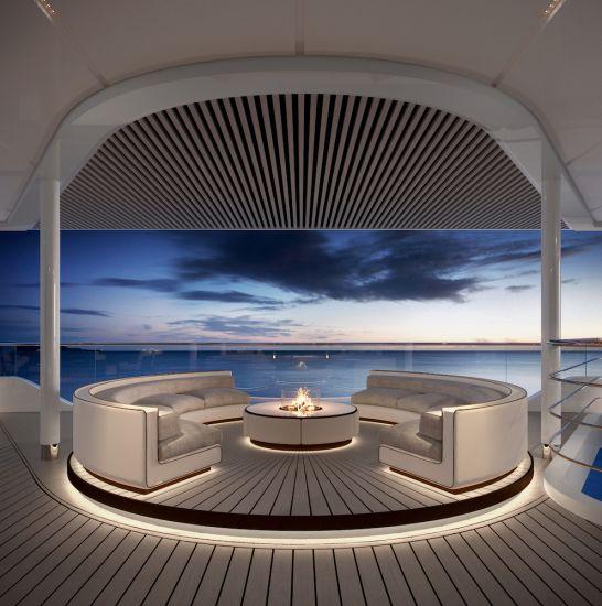 Silversea Silver Origin lounge terrace
