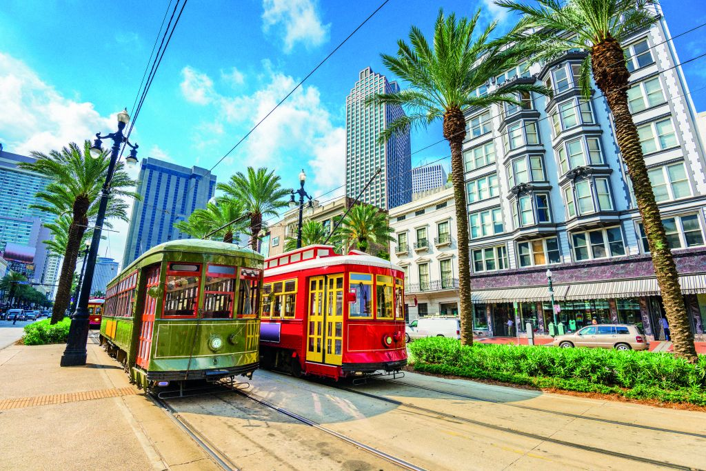 Marella Cruises: New Orleans, Louisiana, USA street cars