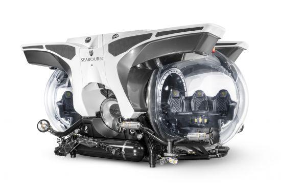 Seabourn Venture: Submarine excursion