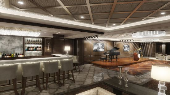 Princess Cruises, jazz lounge