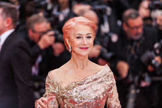 Dame Helen Mirren, godmother, Scenic Eclipse