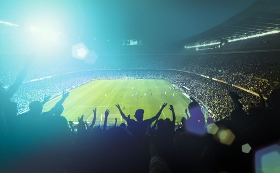 World sporting events: football stadium