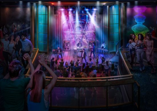 Royal Caribbean Allure of the Seas music hall