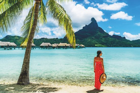 Round the world cruise: Bora Bora