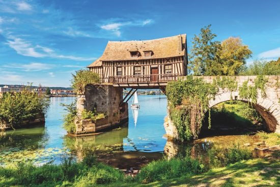 European river cruises: The Seine, Normandy