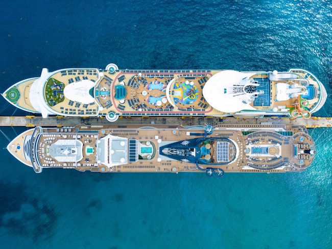 Cruise Ship Decks
