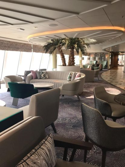 Crystal Serenity lounge