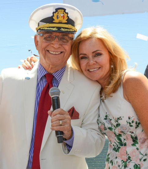 Princess Cruises: wedding vowel renewal Gavin MacLeod and Jill Whelan
