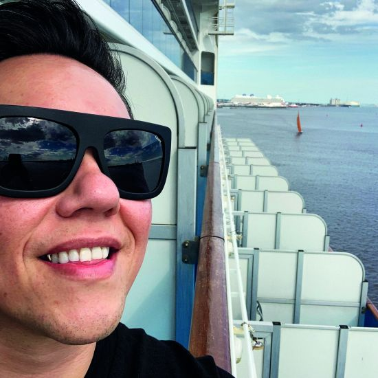 Gok Wan on Princess Cruises