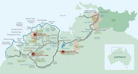 Kimberly John Torode map