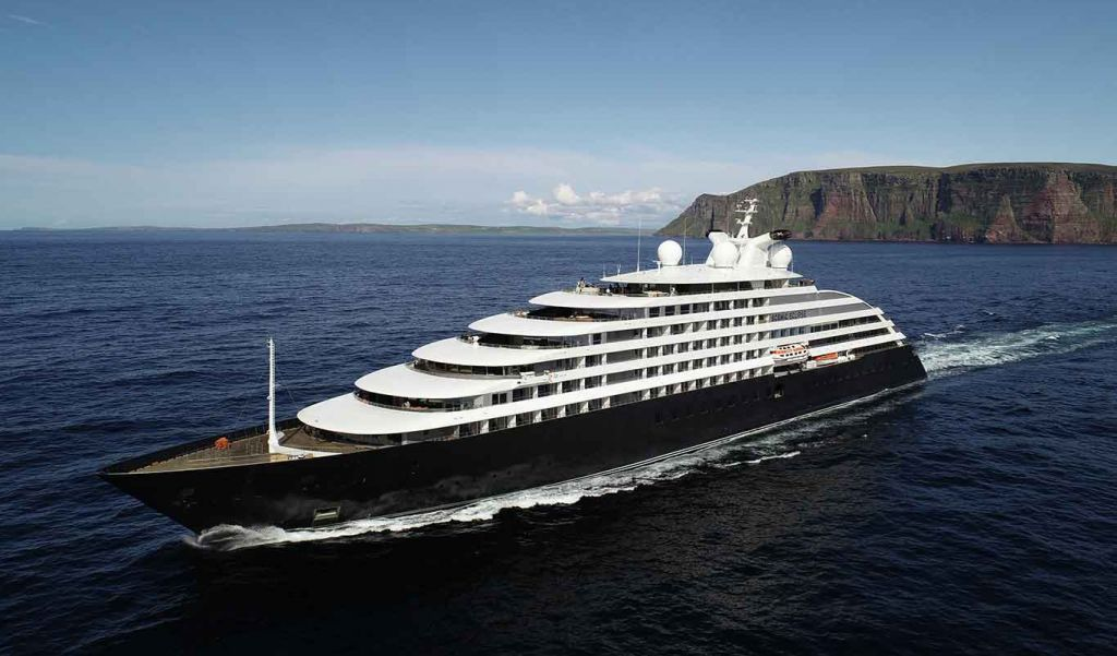 Scenic Eclipse cruise ship