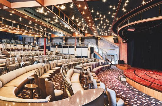 Silversea Silver Cloud entertainment theatre