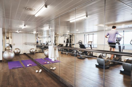 Silversea Silver Cloud fitness centre