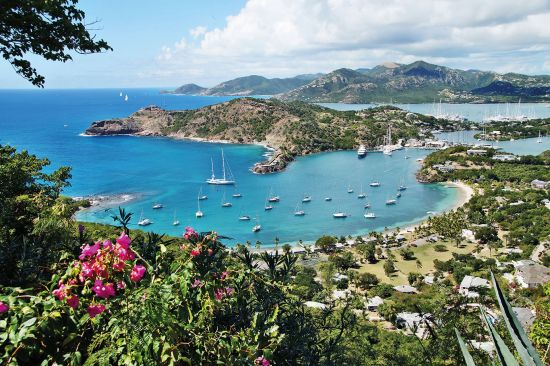 Antigua, Caribbean sea