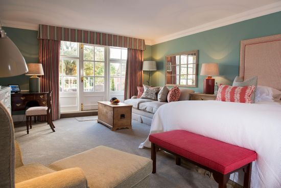 Chewton Glen hotel, suite