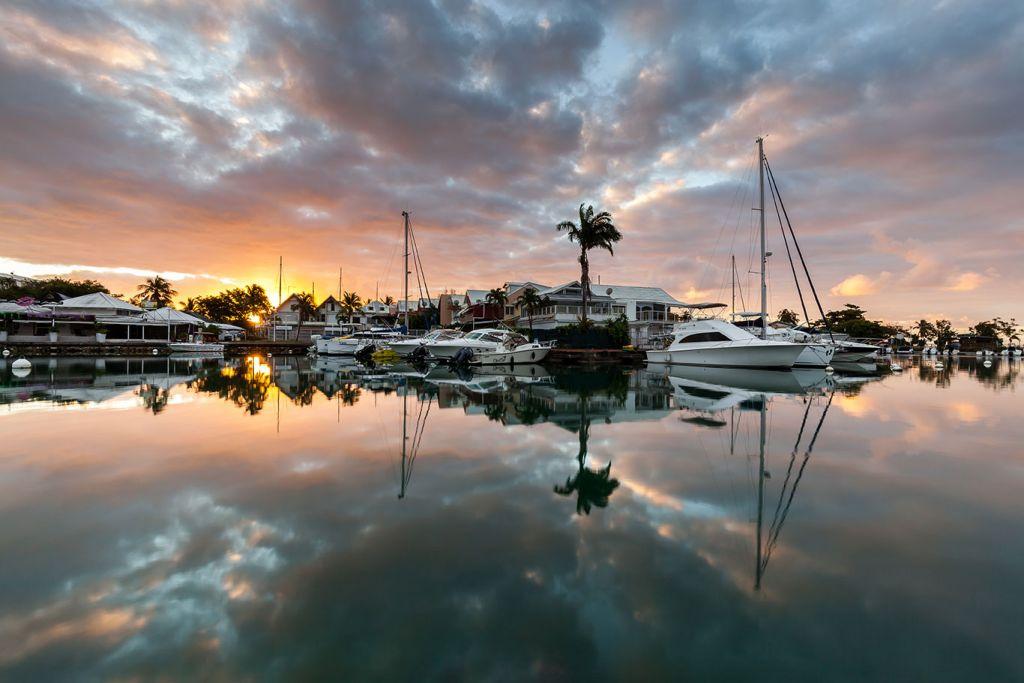 Caribbean cruises, Gaudeloupe sunset