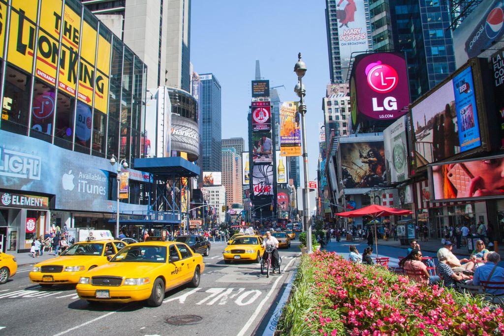 New York in North America