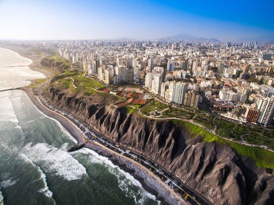 South American cruise, Lima, Peru