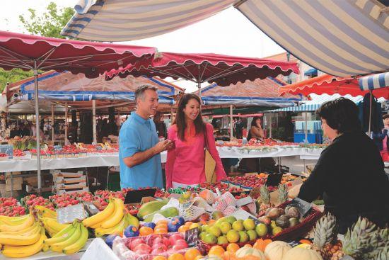 Oceania Cruises, Go Local, market