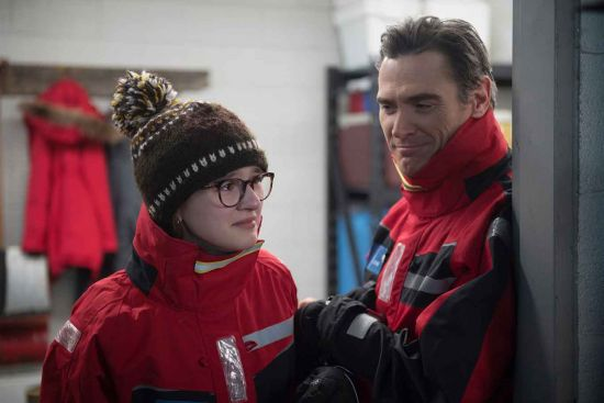 Billy Crudup and Emma Nelson on board One Ocean Expeditions