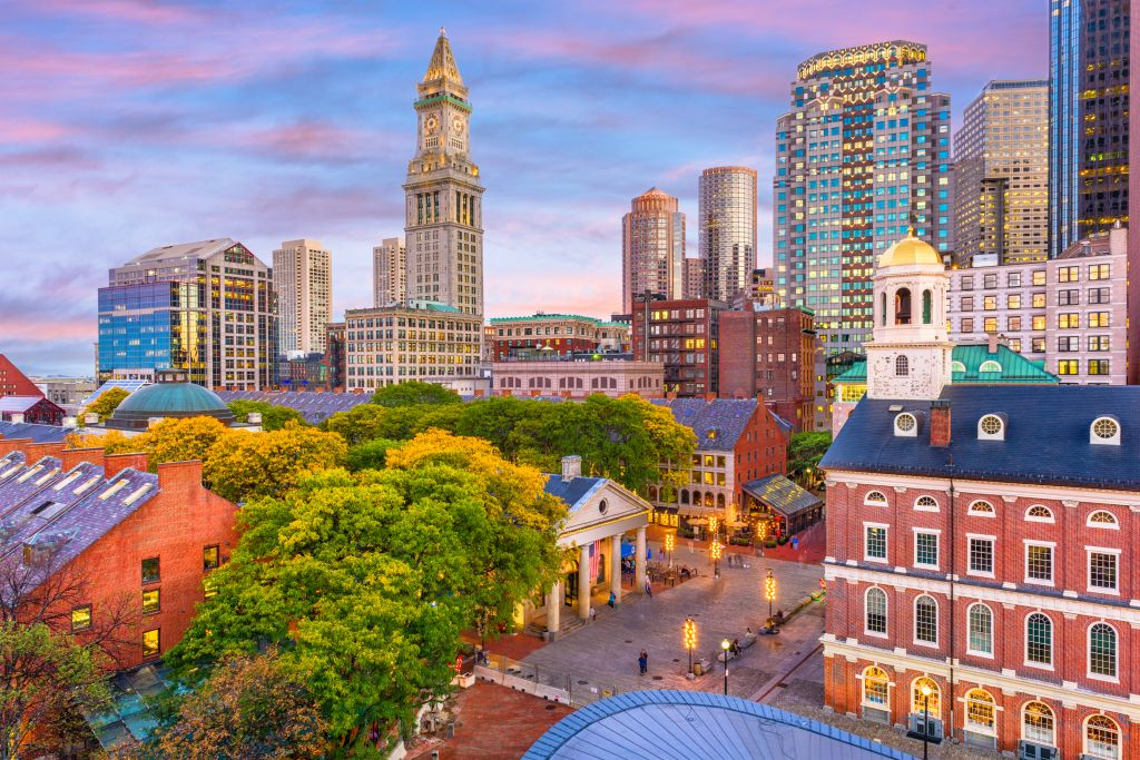North America, Boston City