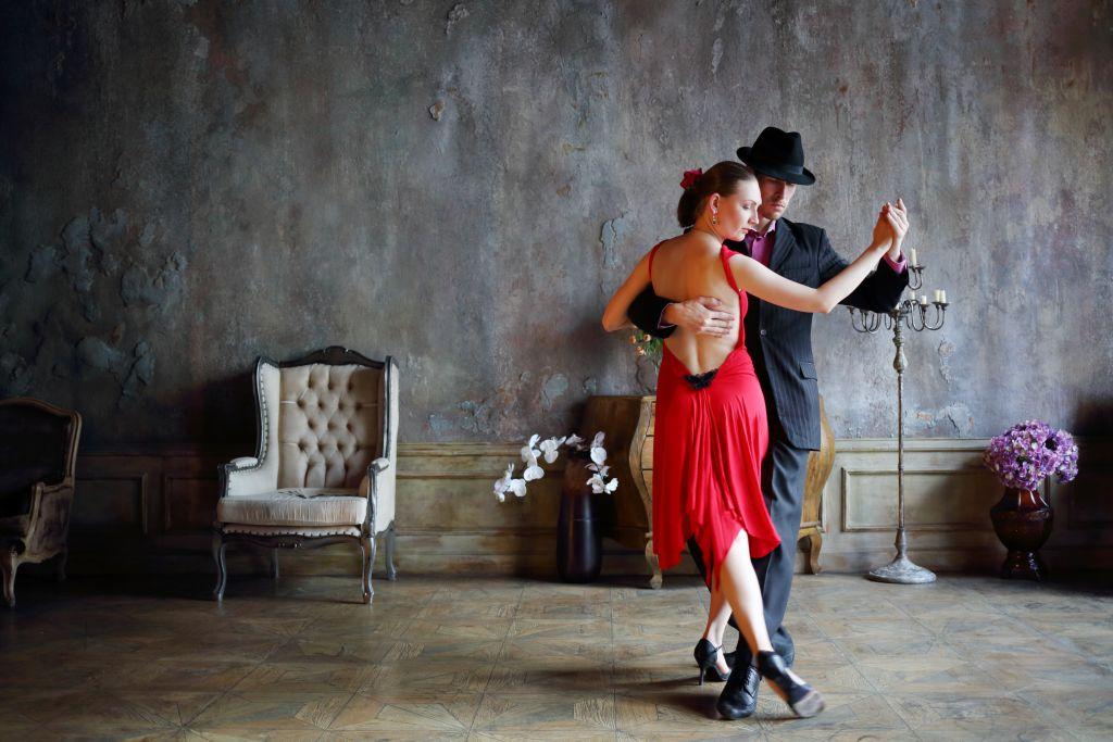 Tango Dancers in Argentina