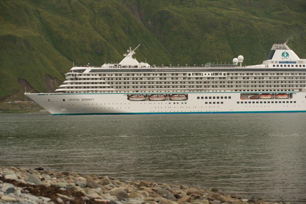 Alaska cruise, Crystal Serenity