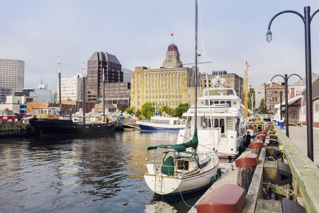 Nova Scotia harbour