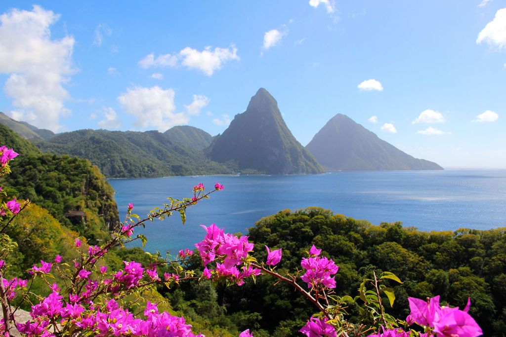 Caribbean islands, St Lucia