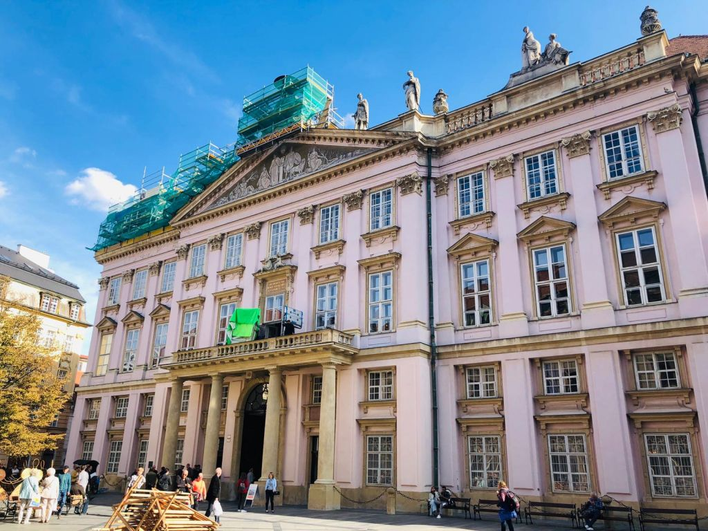 Bratislava pink palace