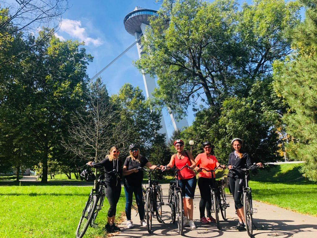 Danube river cruise cycling