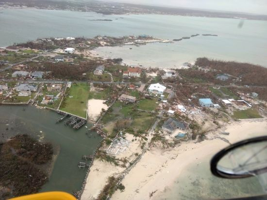 Hurricane Dorian Bahamas cruise ships