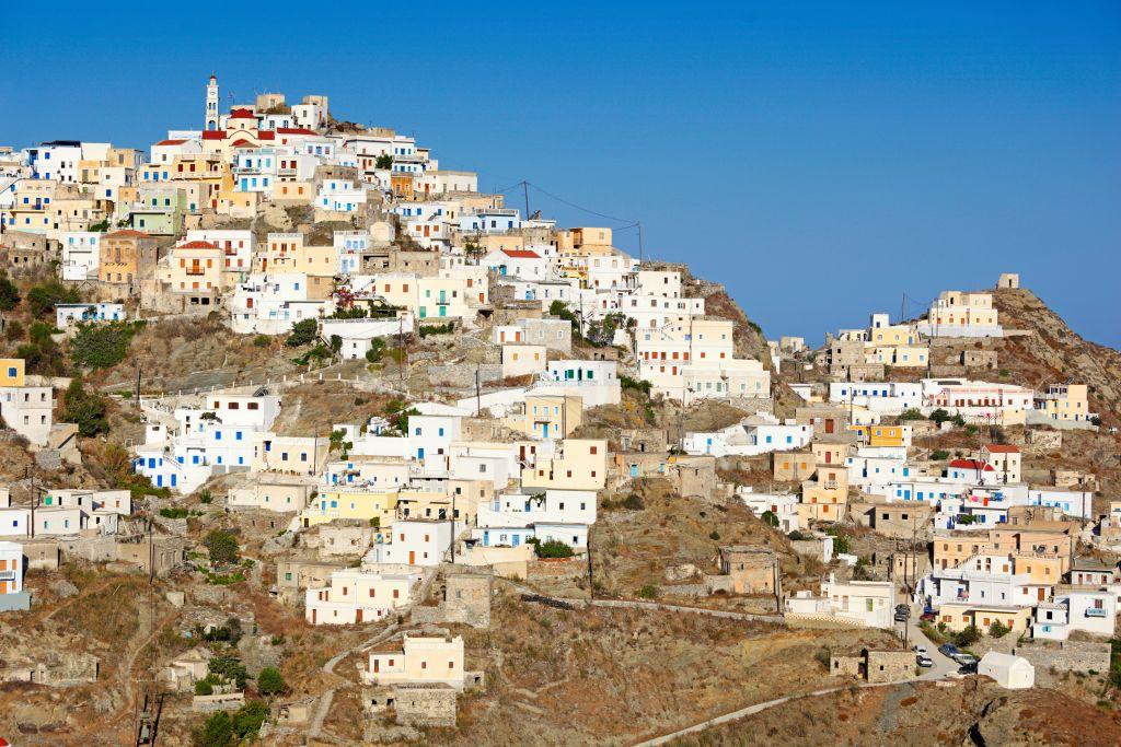 Greek islands cruise destination