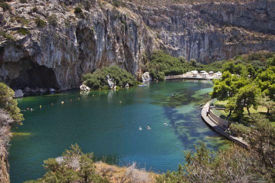 Athens Riviera: Vouliagmen_lake