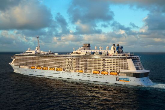 Win a cruise with Jane McDonald aboard Anthem of the Seas