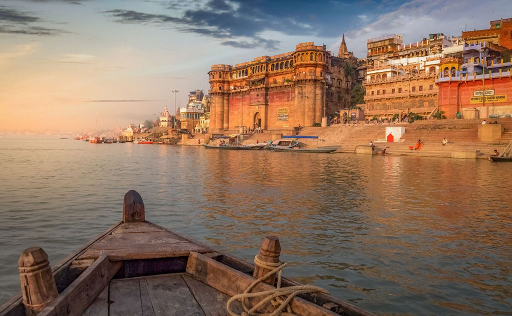 India cruise, Ganges river