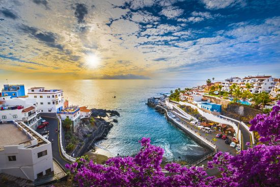 Winter sun, Tenerife, Canary Islands