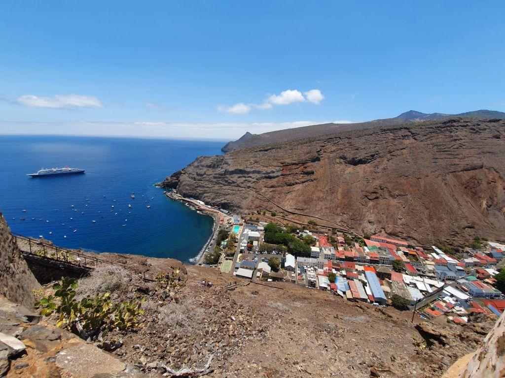 Boudicca, Fred Olsen, world cruise: St Helena