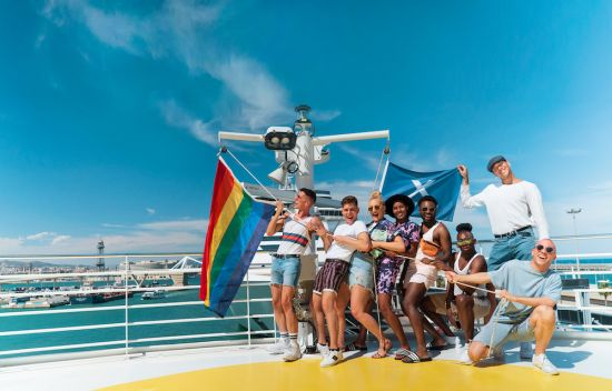 Celebrity Cruises x Gay Times - Group
