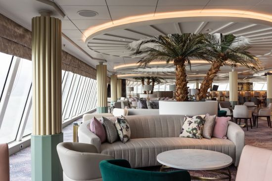 Crystal Cruises Palm Court
