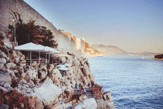 Dubrovnik port city guide: Buza bar