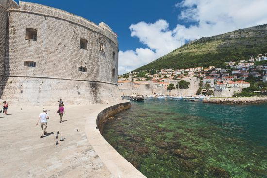Dubrovnik city port guide: fort